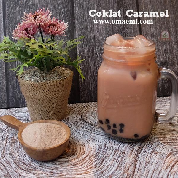 coklat caramel minuman