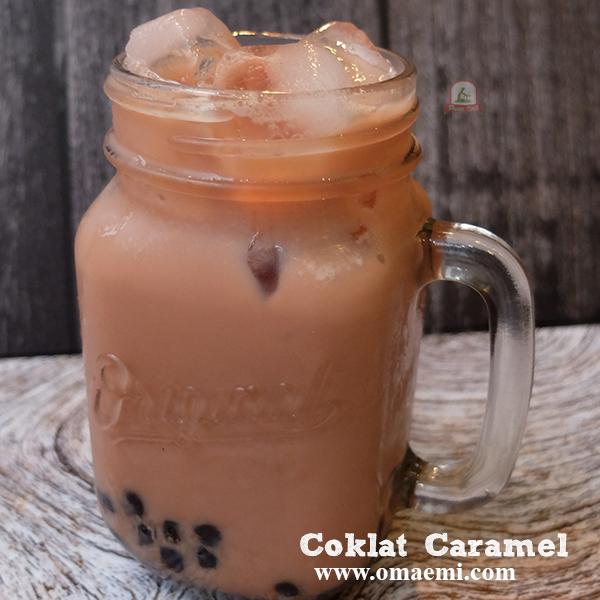 coklat caramel minuman lagi