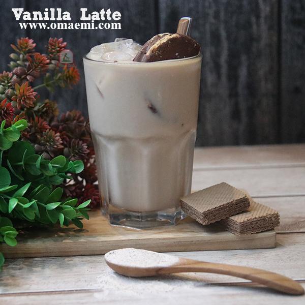 ice vanila latte