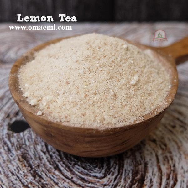lemon tea lagi