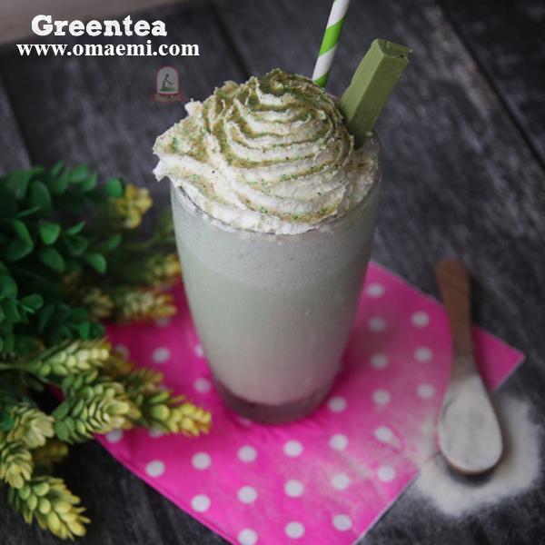 milkshake greentea