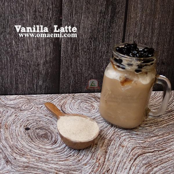 vanilla latte minuman lagi