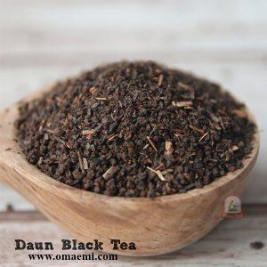daun black tea