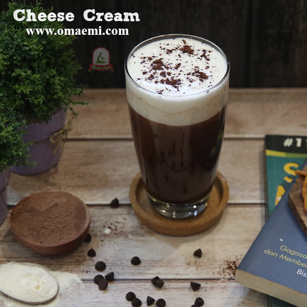 cheese cream minuman