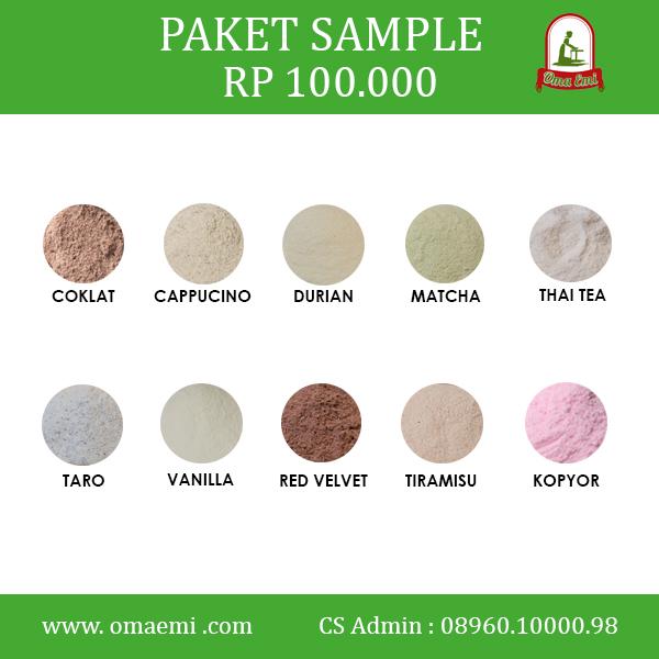 paket sample omaemii